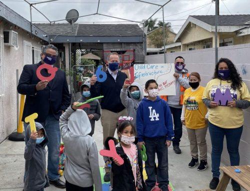 "Child Care Providers Spotlight Child Care ""Deserts"" Across California"