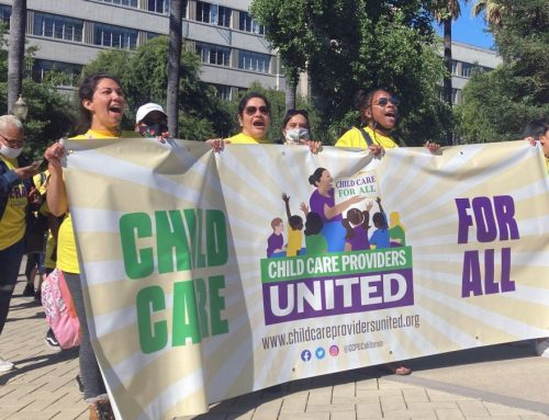 Press Release: Child Care Providers Ratify First-Ever Collective Bargaining Agreement With the State of CA